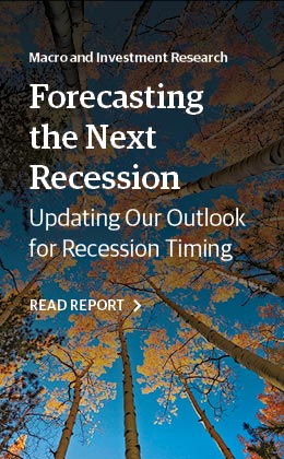 Forecasting the Next Recession - Update on Timing