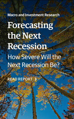 Forecasting the Next Recession - How Severe Will it Be